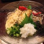 権太呂 岡崎店 - 京野菜のおろし蕎麦