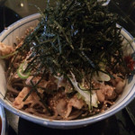 そば処港屋 - 肉そば(2015/9/1)