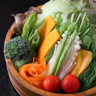 無農薬有機栽培の野菜たち