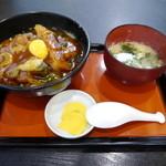 信濃庵 - カツカレー丼