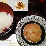 築地寿司清 - 鯛胡麻だれ★ご飯少な目の鯛茶漬けです♪