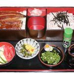 太田家 - 料理写真:ざる鰻重