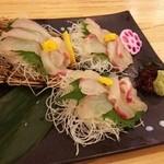 魚輝水産 - 鯛のお造り
