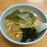 ラーメンショップ - 料理写真:ネギラーメン 750円