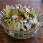 cafe 町子 - セットのサラダ