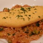 イタリアンキッチン 86 - 糸島産地卵と九州産の米を使ったオムリゾット