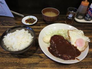 レストラン おづ  - 自家製ハンバーグ ランチ