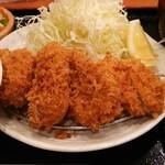 とんかつ まさむね - 上ヒレかつ定食(1780円)