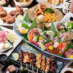 なごみ - コースのお料理は和食を中心としたメニューに、旬の食材や新鮮な海の幸にこだわった内容となっております。