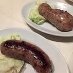 Toenthifosebunresutoran - ソーセージ牛、豚