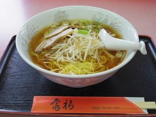 亀福食堂 - 2015年8月 大盛りラーメン(750円)