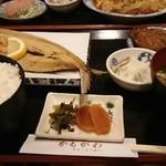 かもがわ - 焼き魚定食(飛び魚)