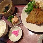 安乍希 - 鯵フライ定食