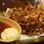 Grill & Kitchen かぼちゃの馬車 - ●するめの天ぷら、これは外せない。。