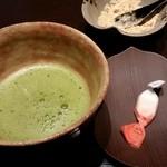柚こう - 2015.8 抹茶と落雁
