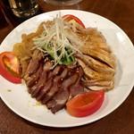 栄翔 - 三種前菜の盛り合わせ