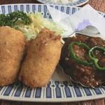 レストラン 西洋軒 - タンシチューとクリームコロッケ