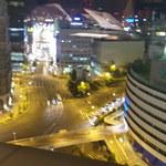 41454759 - 窓際の席は夜景が見えます。  阪急百貨店 と 阪神百貨店