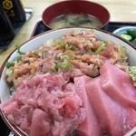 41456094 - 二色丼 1000円