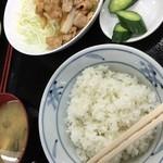 41456115 - 豚みそ炒め定食 750円