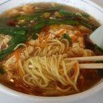 中国料理 朋友 - 酸辣湯麺