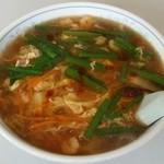 中国料理 朋友 - 酸辣湯麺 730円