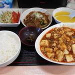 中国四川料理 仁 - マーボー定食