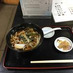 ひるねの森 竹映 - 山菜うどん