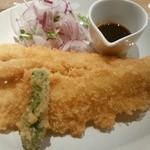 浅野屋 - イカフライ定食ー大きめのイカフライがカリッー