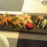 キャトルフィーユ - ランチの前菜