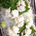 割烹 桂 - ハモ湯引き