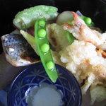 山辺の道 花もり - 天ぷら、煮物、焼き物がとにかく満載♪♪