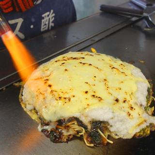 お好み焼きチーズ・トロロ