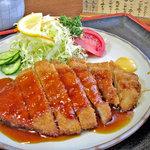 """平林とんかつ店 - 肉は薄い ^^"""""""