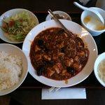 中国家庭料理 神洲之華 - ランチ 麻婆豆腐700円