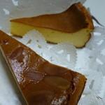 チーズケーキ CAFE MAGY - テイクアウトで2種類のチーズケーキを。。