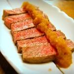 へそ - 佐賀牛ステーキ