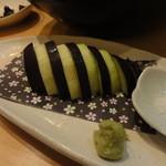 旬肴居酒屋 味人 - 水ナスの刺身580円