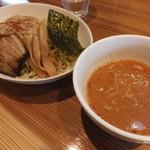麺屋 武吉 - 冷やし辛つけ麺です☆ 2015-0720訪問