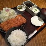 とんかつ和幸 - 特大ひれかつ御飯(1,674円)2015年8月