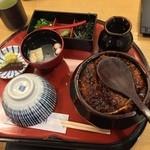 あつた蓬莱軒 松坂屋店 - ひつまぶし(¥3,600)9/1/2015