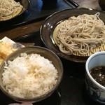 41476421 - そばと天ぷらのセット ¥960
