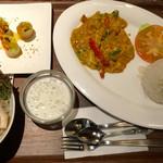 タイレストラン タニサラ - クンパッポンカリーセット 税込1480円