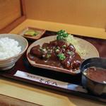 とん八 - 味噌とんかつ定食☆