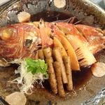 ウオサンジ - キンメダイ煮つけ