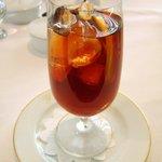 レストラン タテル ヨシノ 銀座 - オーガニックアイスコーヒー