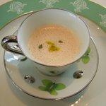 レストラン タテル ヨシノ 銀座 - スープ