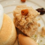 レストラン タテル ヨシノ 銀座 - ディセール:マロンのエクラゼに軽やかなメレンゲを添えて