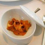 レストラン タテル ヨシノ 銀座 - メイン:ジビエ添えつけはジロール茸