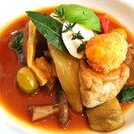 レストラン タテル ヨシノ 銀座 - メイン:テット ドゥ コション ソーストルテュ